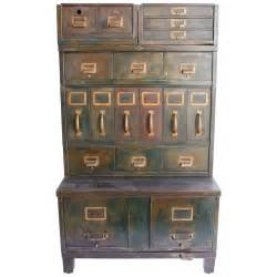 Vintage Filing Cabinet Vintage Files And Drawers On Metal File Cabinets Vintage Display And Filing Cabinets