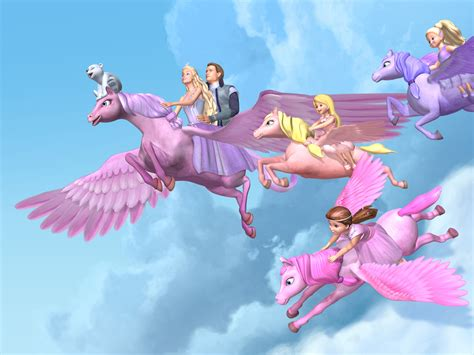 film barbie magic pegasus barbie and the magic of pegasus flying to home together