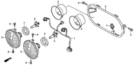 honda ruckus headlight bulb replacement wiring diagrams