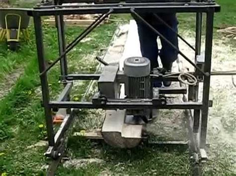 swing blade mill swing blade sawmill youtube