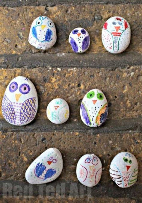 stone owls fun family crafts
