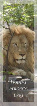 printable lion bookmarks father s day printable bookmarks for dads or grandfathers
