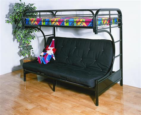 bunk beds with a futon futon bunk beds with mattress included
