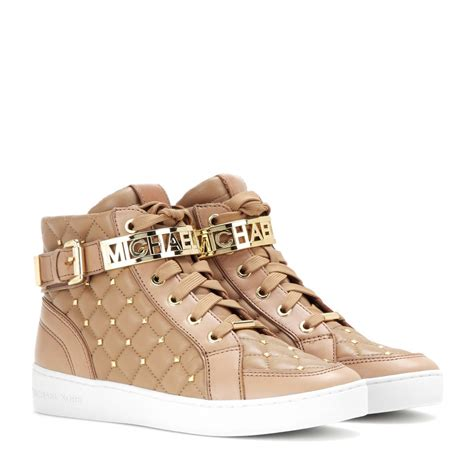 cheap michael kors sneakers michael michael kors essex embellished leather high top
