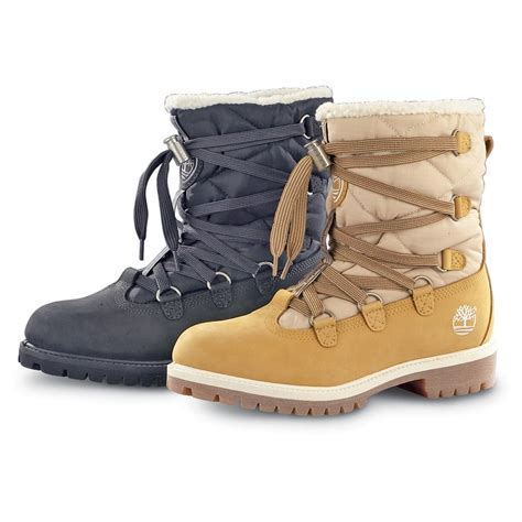 shoes for in winter s timberland 174 winter tim s acrylic pile lined boots