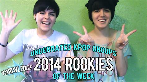 kpop rookie award voting 2014 underrated kpop groups of the week 2014 rookies k