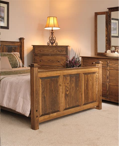 pine wood shaker bedroom set from dutchcrafters amish