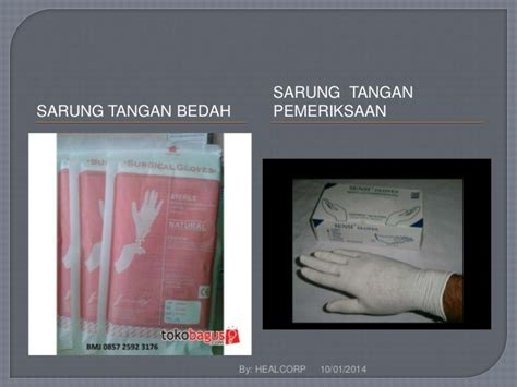 Sarung Tangan Operasi alat pelindung diri apd lengkap di kamar operasi