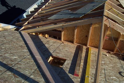 How To Add A Hip Roof Addition Two Different Exles For Installing Home Addition Roof
