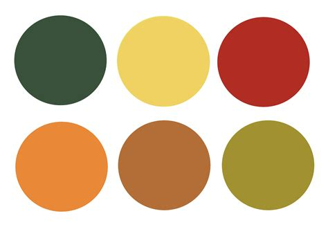 fall color pallet fall color palette inspiration color story