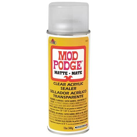 Mod Podge 174 Clear Acrylic Sealer Matte