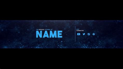 youtube channel art template 42 free psd ai vector eps format