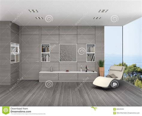 wall cladding for living room modern living room with wooden wall cladding stock illustration image 60043345