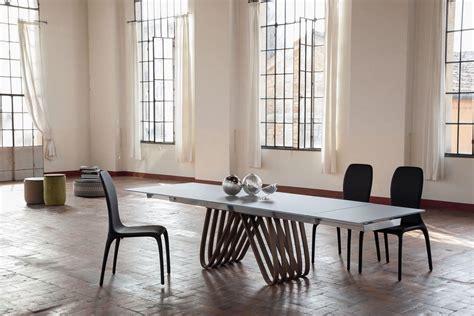 tavoli pranzo design tavolo allungabile ccon piano in vetro per la casa