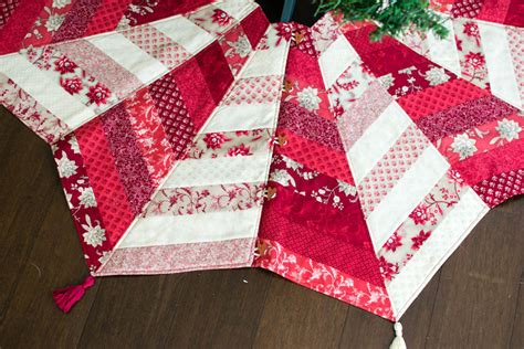 Quilted Tree Skirt by Diy Quilted Tree Skirt Class The Sewing Loft