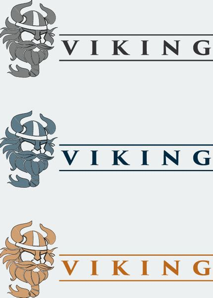 viking template viking logo design template free vector in adobe