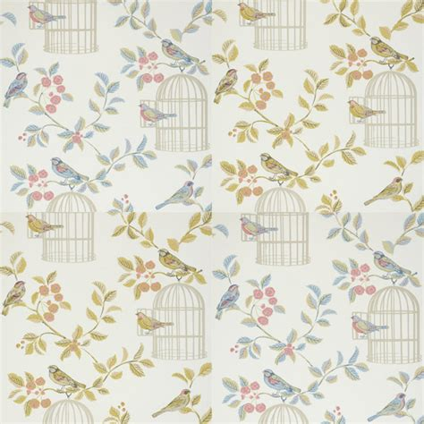 shabby chic wallpaper iliv shabby chic song bird wallpaper ebay