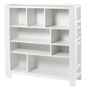 Compartment department bookcase white