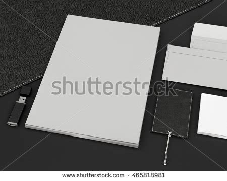 business card template render photo business cards template branding identity stock