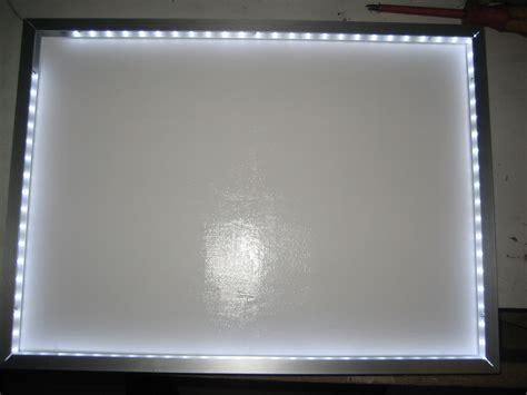 Glasplatte Beleuchten by Bauanleitung F 252 R Einen Leuchttisch Mit Leds