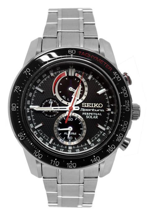 Seiko Sportura Barca Silver Steel seiko ssc357 sportura solar black chronograph silver