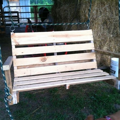 how to make pallet swing 50 diy pallet swing ideas make immediately pallets platform