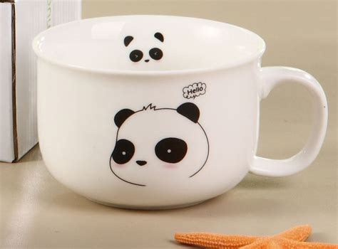 Mug Kharakter Lucu Mikey Dan Nya panda mug panmomo belanja barang unik dan lucu