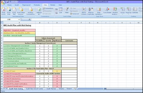 Internal Audit Schedule Template Schedule Template Free Audit Template Excel