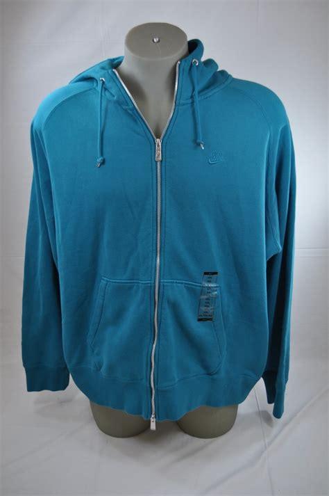 jaket jacket nike sweater hoodie basic classic zipper original bla nike teal basic logo zip up classic cotton hoodie 340864