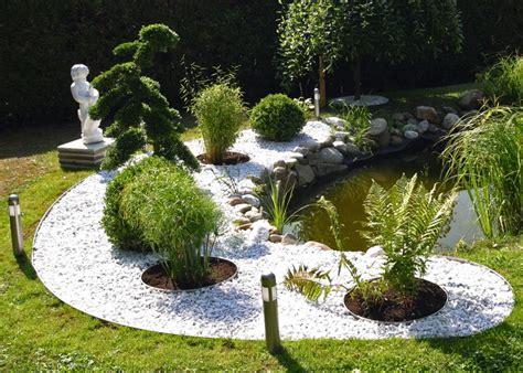 pflegeleichte gärten gestalten garten modern kies garten gestalten mit kies garten ideen