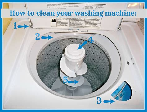 how to clean a washing machine cleaning the inside of how to clean your washing machine crafty delish