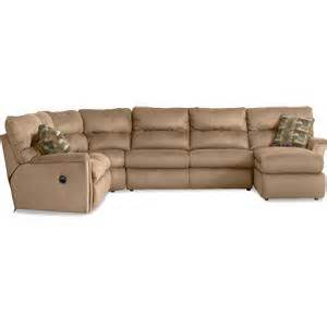 griffin sectional with sleeper griffin 4 piece reclining sectional w chaise rotmans