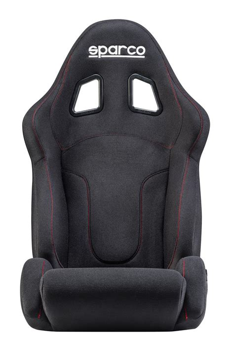 reclinable seat sparco reclinable seat r600 black black stitch or red