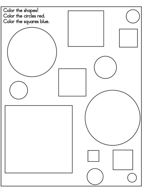 coloring pages with shapes for preschool coloring pages preschool shapes coloring pages free