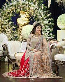 latest pakistani fashion bridal dreeses 2017