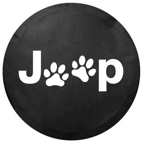 Jeep Tire Covers Is All Things Jeep Jeep Paw Logo Tire Cover