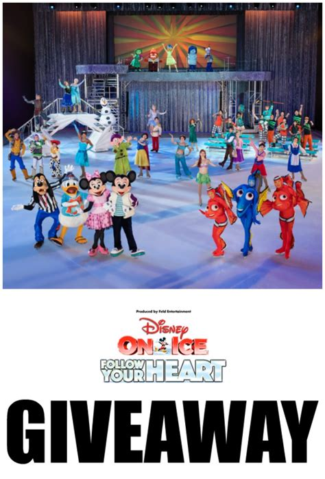 Disney Ticket Giveaway - disney on ice follow your heart ticket giveaway rae gun