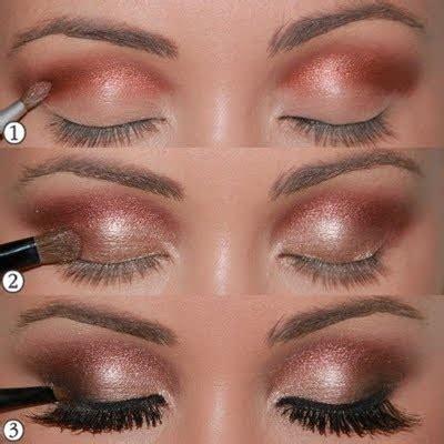eyeshadow tutorial bronze hottest makeup trends 20 shimmer makeup tutorials ideas