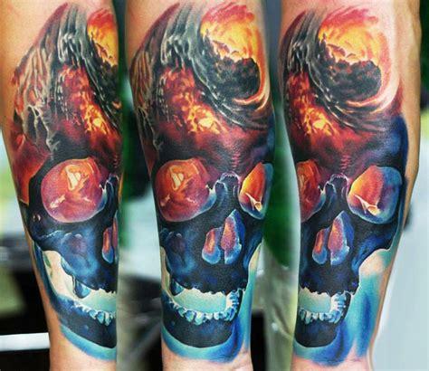 skull by levgen best tattoos