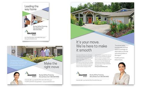 Realtor Flyer Ad Template Design Advertisement Design Templates