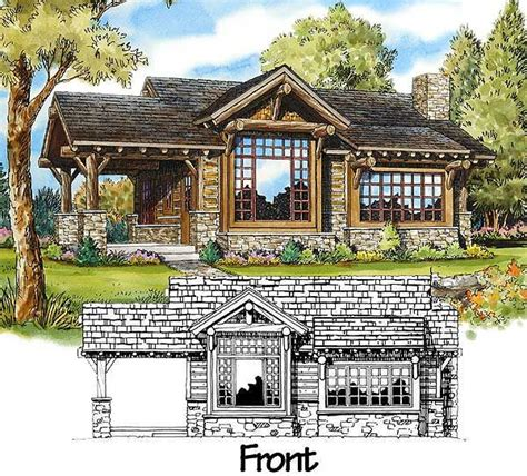 Weekend Cabin Plans by Plan 11529kn Weekend Mountain Escape Porch