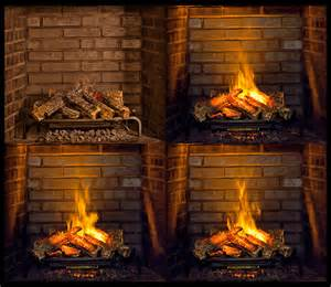 dimplex 28 inch opti myst electric fireplace insert log