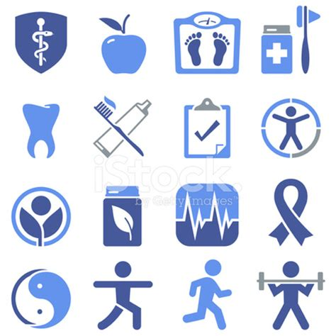 Health & Wellness Icons Pro Series Stock Vector ...