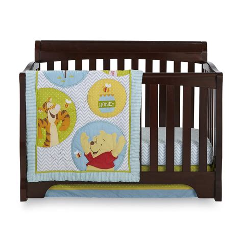 Disney Baby Winnie The Pooh 4 Piece Crib Bedding Set The Crib Bedding