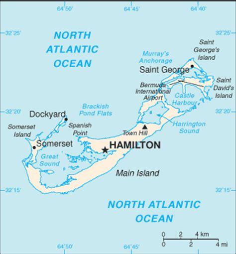Bermuda Map World by Geographyiq World Atlas North America Map Of Bermuda