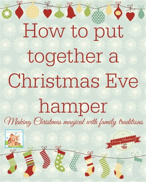 how to put a box together putting together a christmas eve her and other