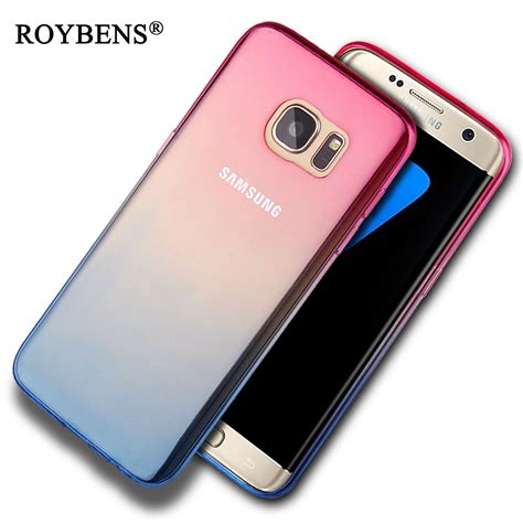 Casing Samsung Galaxy I8260i8262 Fullset roybens s6 edge luxury gradient colorful tpu silicone