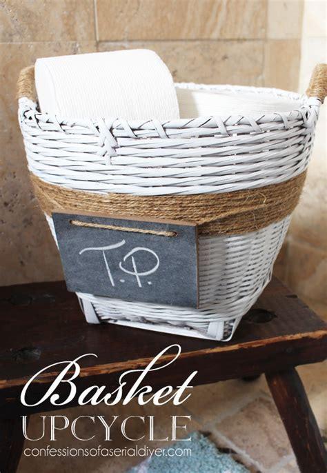 Hometalk   Painted Basket Upcycle
