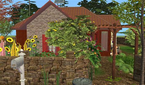 Benjamin Cottage by Mod The Sims Benjamin Cottage No Cc