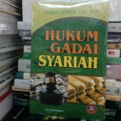 Hukum Kepalitan Adrian Sutedi jual buku kuliah hukum gadai syariah adrian terjual